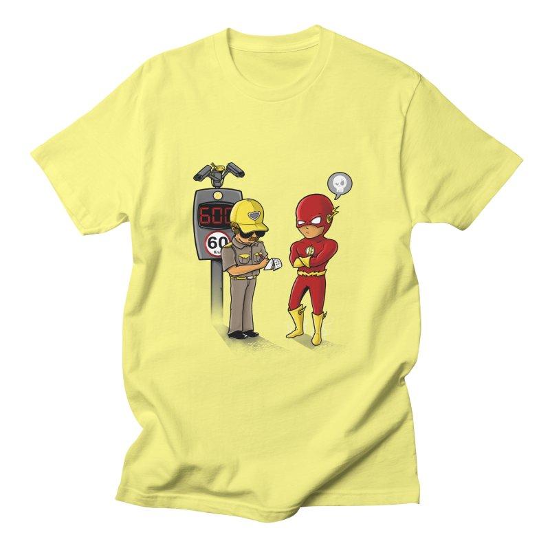 Speed Flash Men's T-shirt by zakeu's Artist Shop