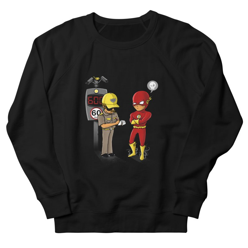 Speed Flash Men's Sweatshirt by zakeu's Artist Shop