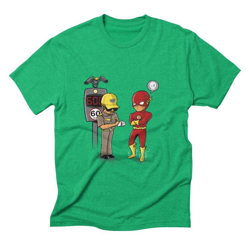 Speed Flash Men's Triblend T-Shirt by zakeu's Artist Shop