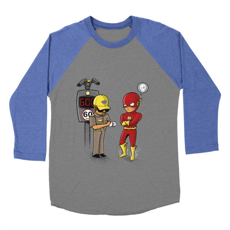 Speed Flash Men's Baseball Triblend T-Shirt by zakeu's Artist Shop