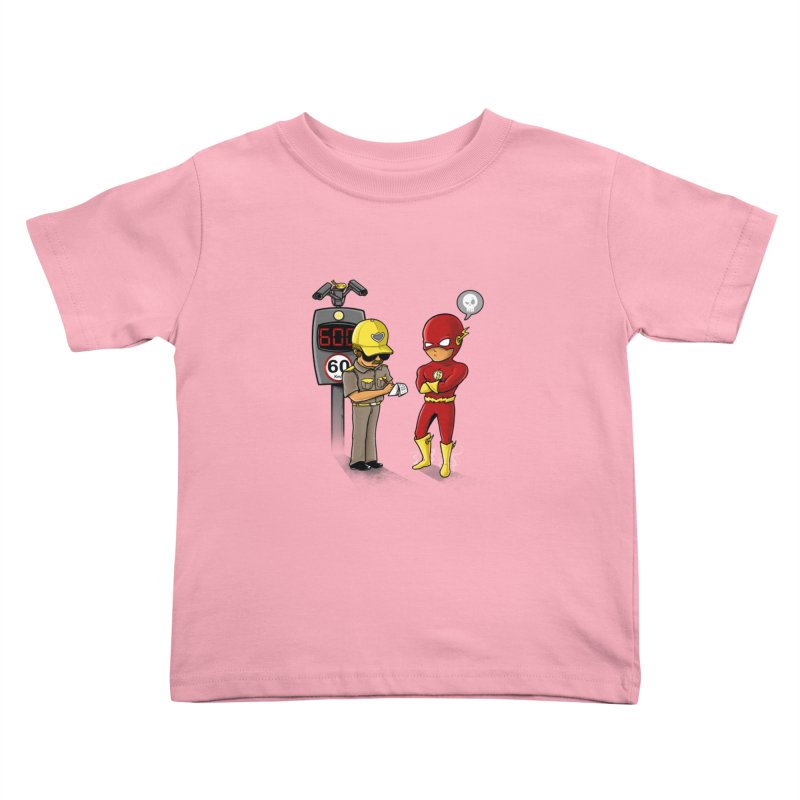 Speed Flash Kids Toddler T-Shirt by zakeu's Artist Shop