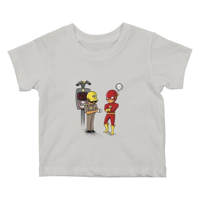 Speed Flash Kids Baby T-Shirt by zakeu's Artist Shop