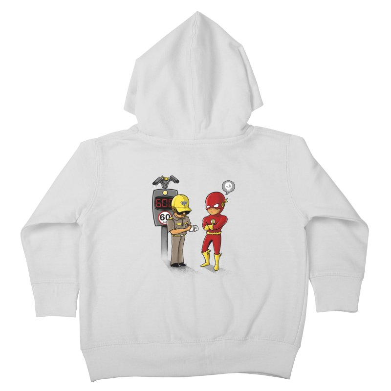 Speed Flash Kids Toddler Zip-Up Hoody by zakeu's Artist Shop