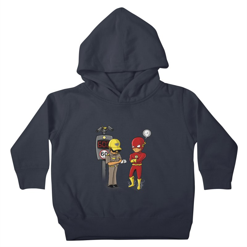 Speed Flash Kids Toddler Pullover Hoody by zakeu's Artist Shop