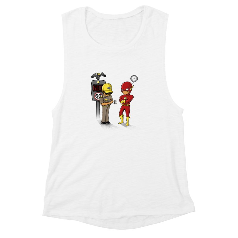 Speed Flash Women's Muscle Tank by zakeu's Artist Shop