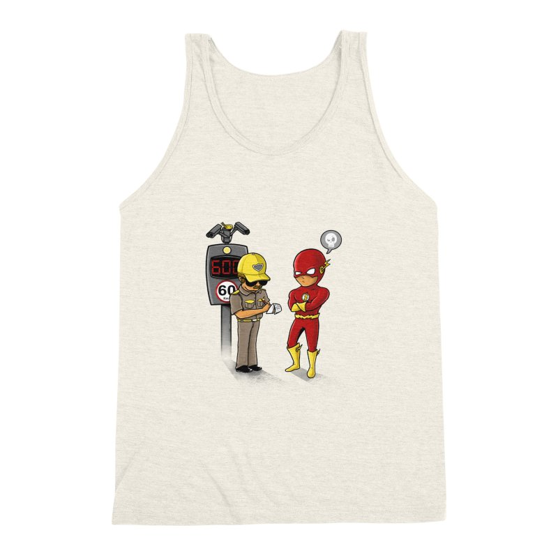 Speed Flash Men's Triblend Tank by zakeu's Artist Shop
