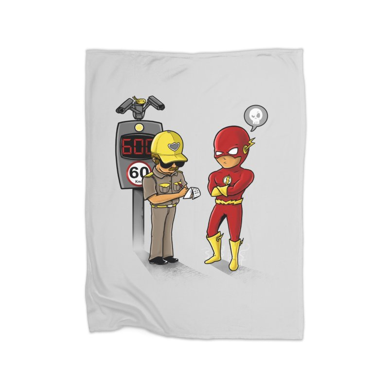 Speed Flash Home Blanket by zakeu's Artist Shop