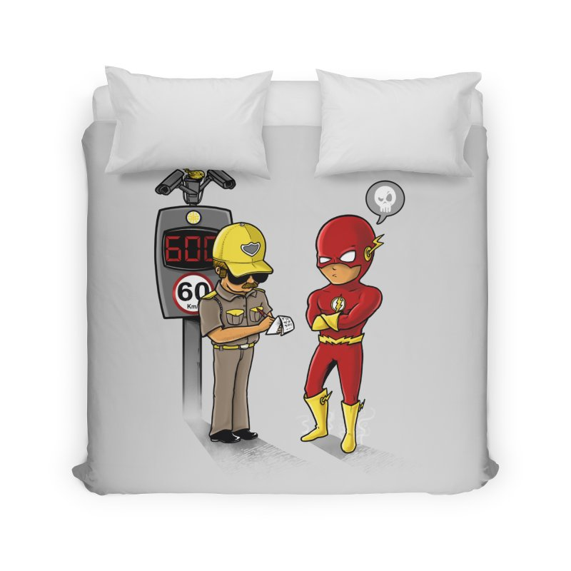 Speed Flash Home Duvet by zakeu's Artist Shop