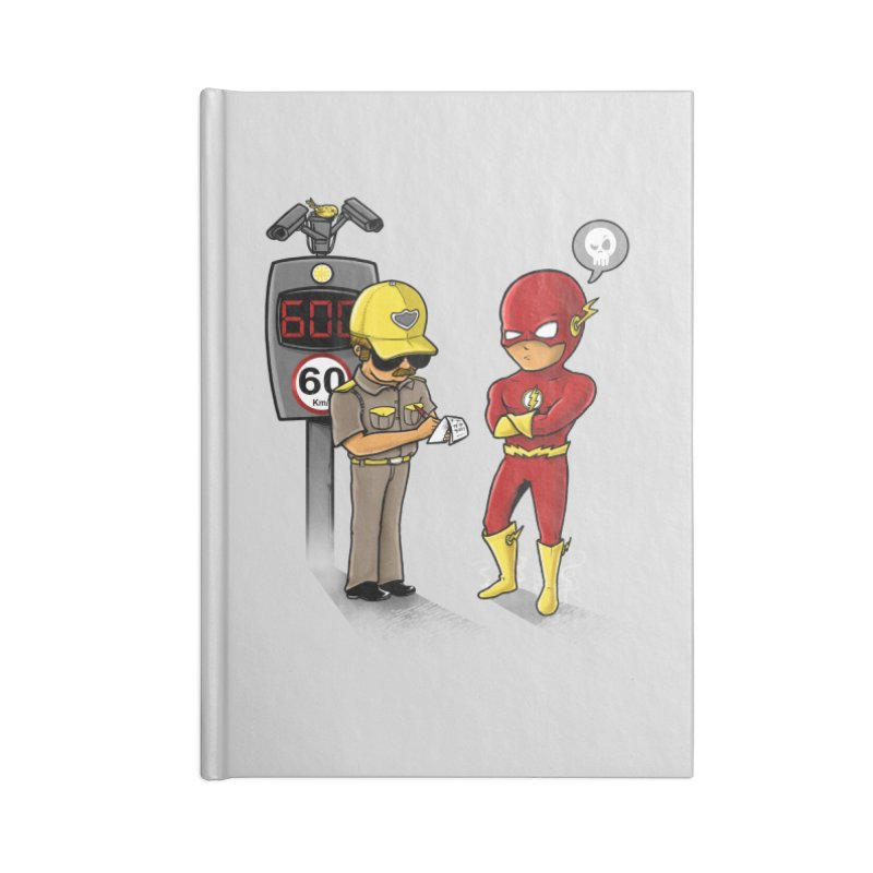 Speed Flash Accessories Notebook by zakeu's Artist Shop