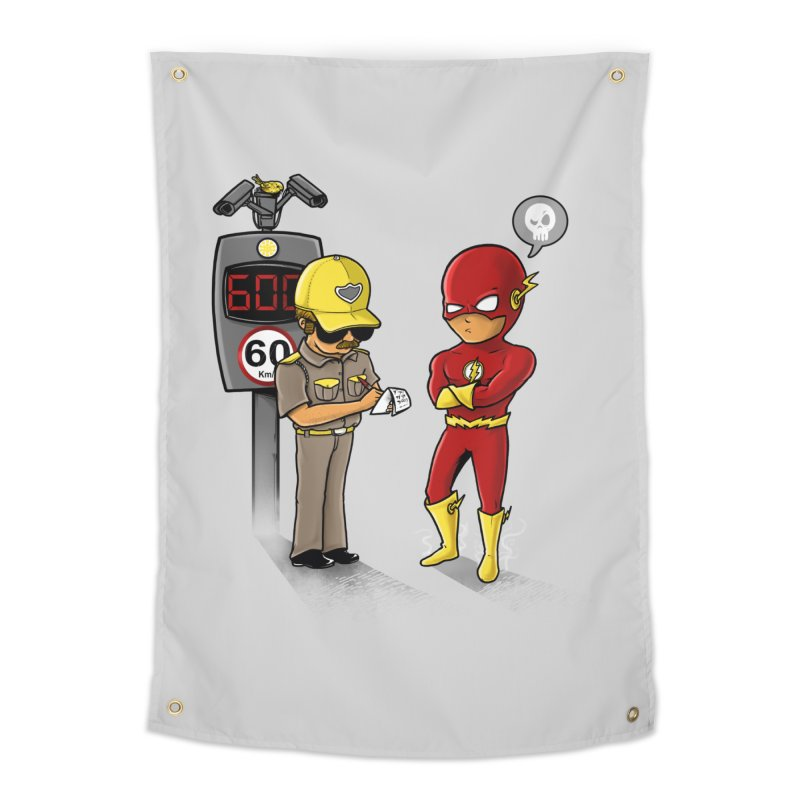 Speed Flash Home Tapestry by zakeu's Artist Shop