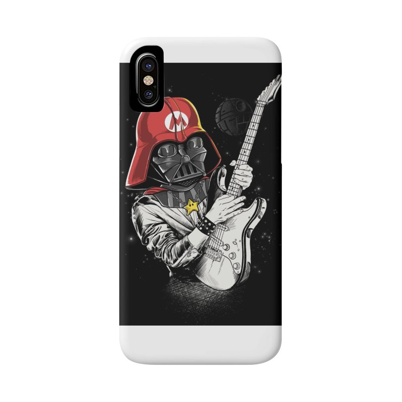 Darth Mario Rockstar Accessories Phone Case by zakeu's Artist Shop