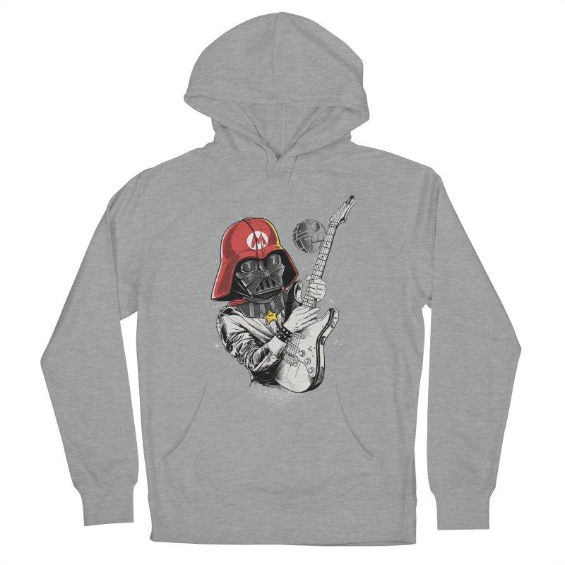 Darth Mario Rockstar Men's Pullover Hoody by zakeu's Artist Shop