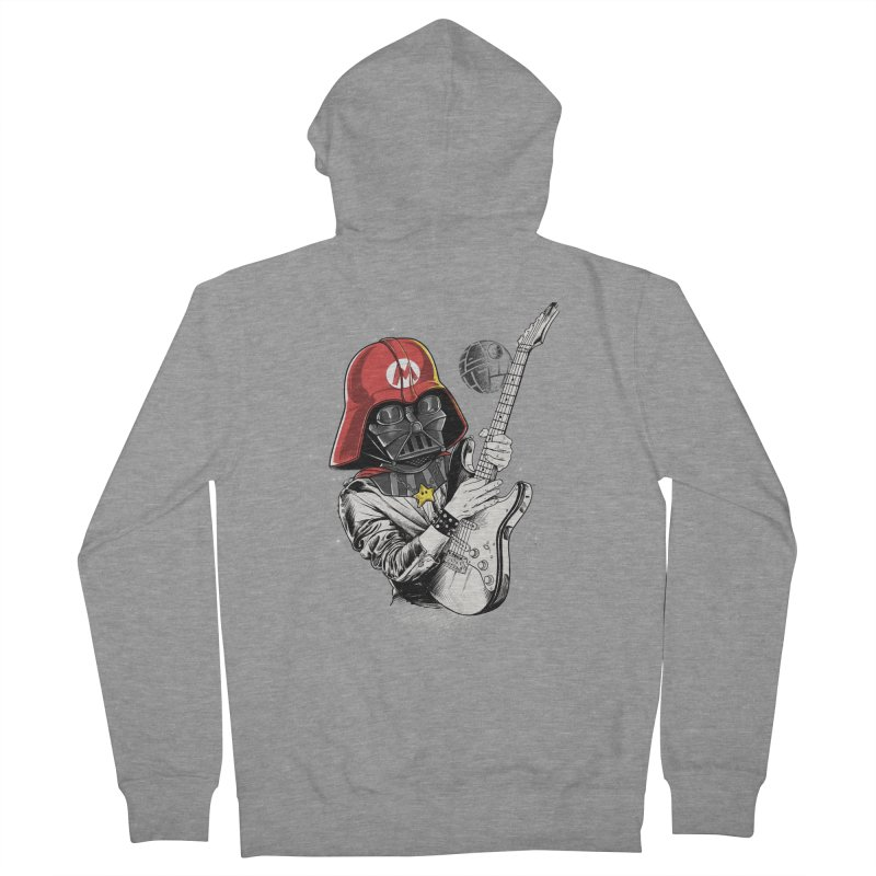 Darth Mario Rockstar Women's Zip-Up Hoody by zakeu's Artist Shop