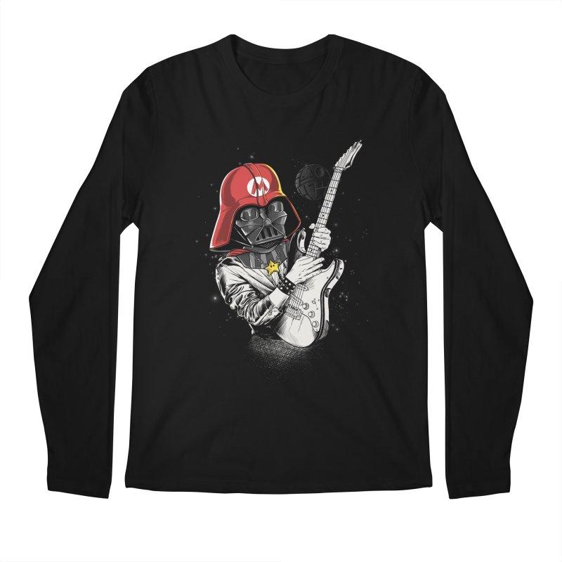Darth Mario Rockstar Men's Longsleeve T-Shirt by zakeu's Artist Shop