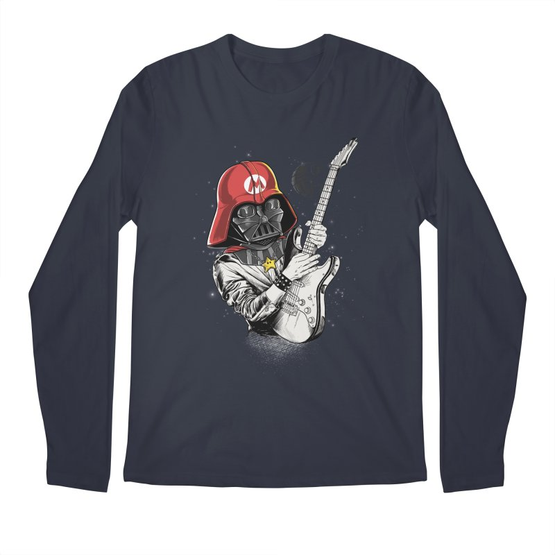 Darth Mario Rockstar Men's Longsleeve T-Shirt by zakeu's Artist Shop