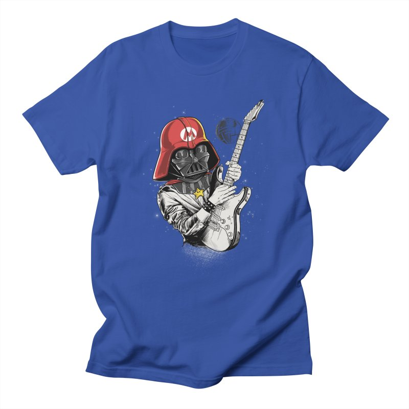 Darth Mario Rockstar Women's Unisex T-Shirt by zakeu's Artist Shop