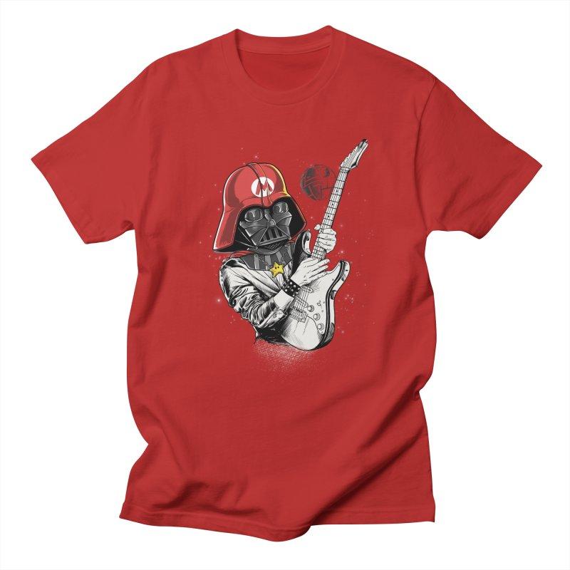 Darth Mario Rockstar Men's T-shirt by zakeu's Artist Shop