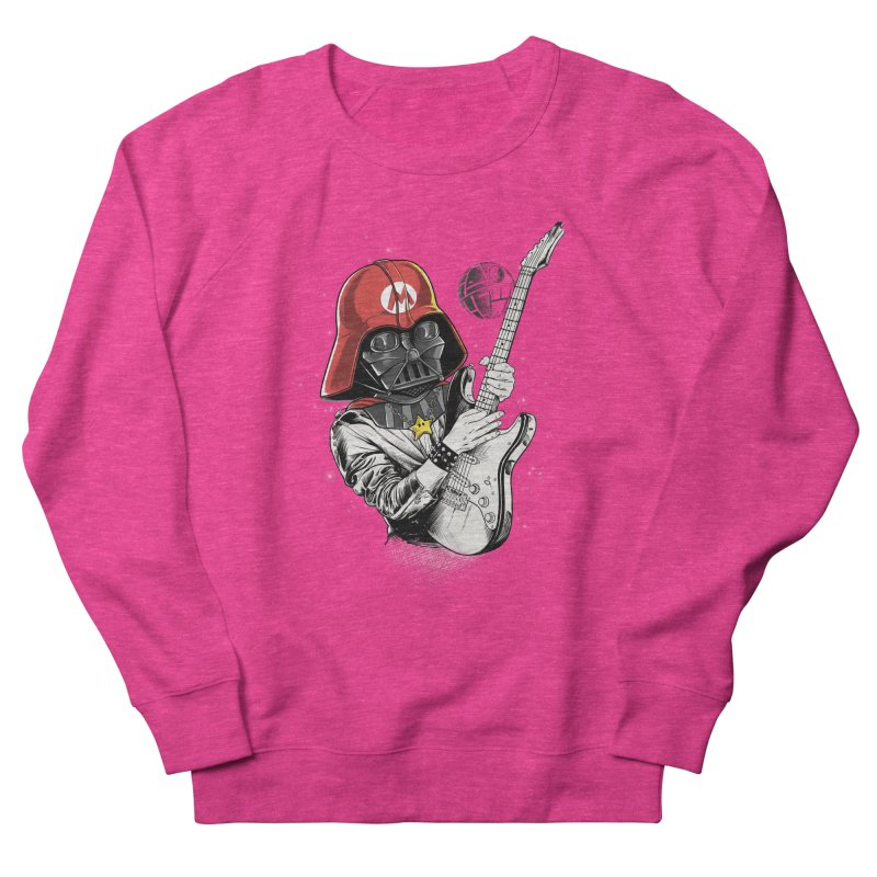 Darth Mario Rockstar Women's Sweatshirt by zakeu's Artist Shop