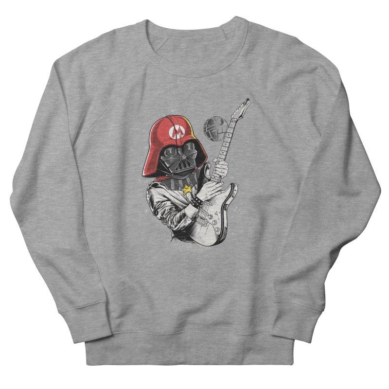 Darth Mario Rockstar Men's Sweatshirt by zakeu's Artist Shop