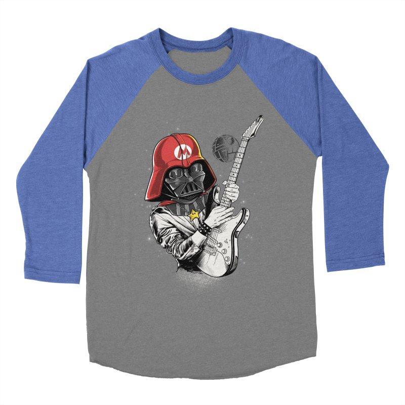Darth Mario Rockstar Men's Baseball Triblend T-Shirt by zakeu's Artist Shop