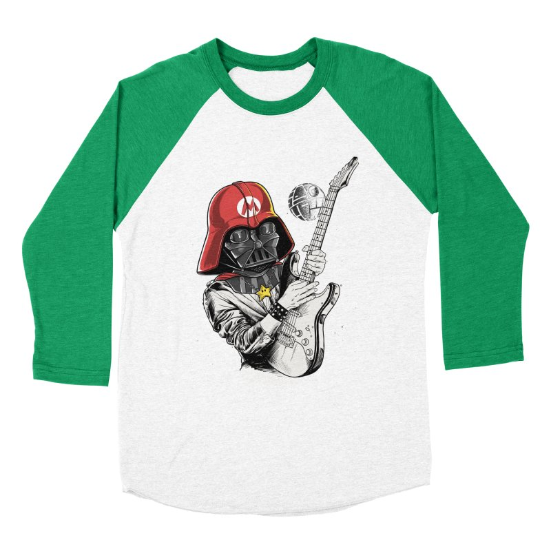 Darth Mario Rockstar Men's Baseball Triblend T-Shirt by zakeu's Artist Shop