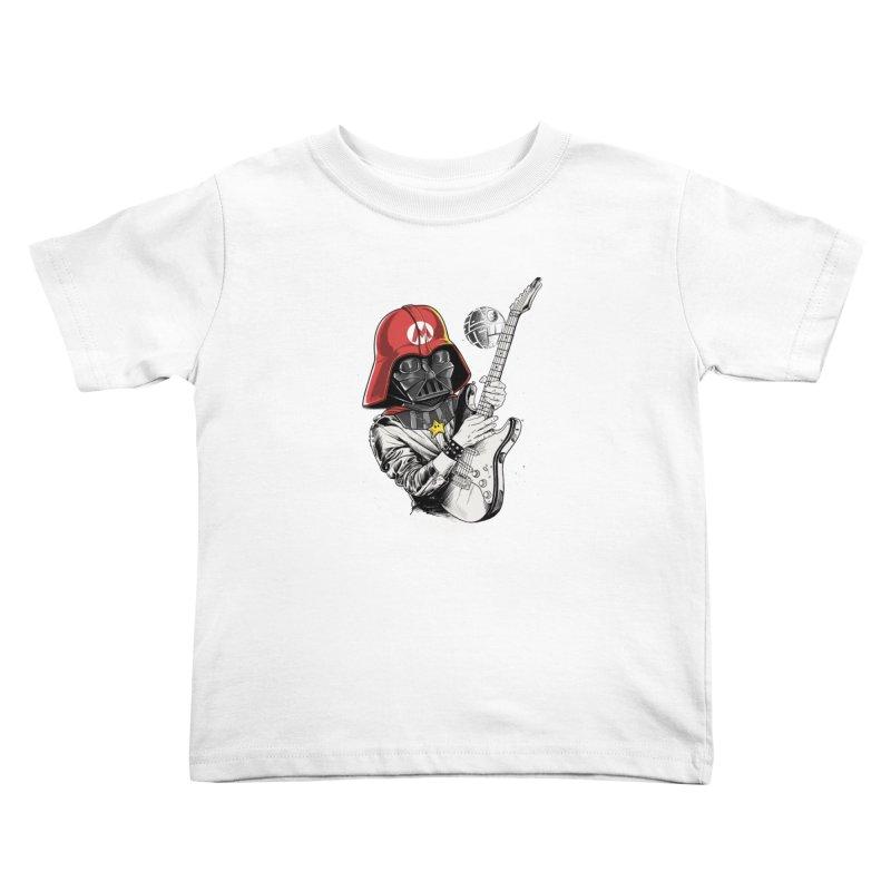 Darth Mario Rockstar Kids Toddler T-Shirt by zakeu's Artist Shop