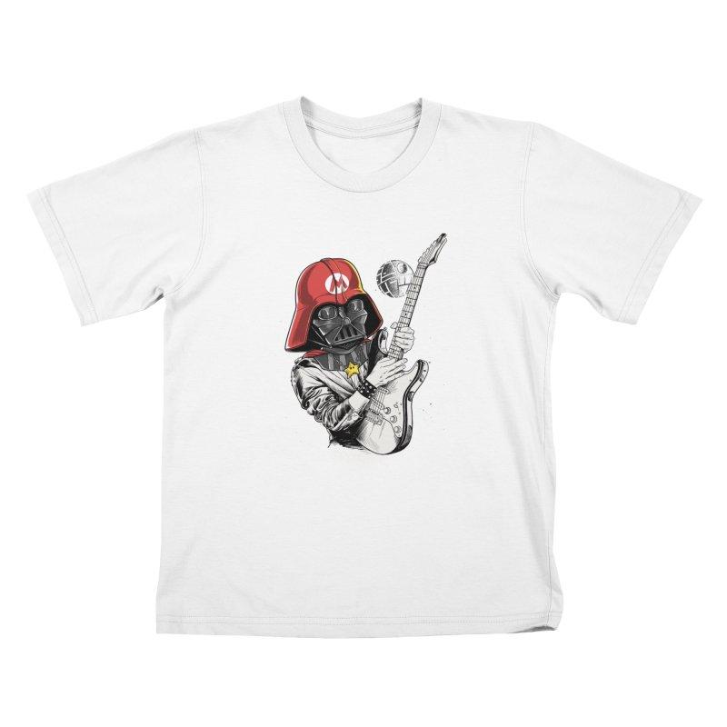 Darth Mario Rockstar Kids T-shirt by zakeu's Artist Shop