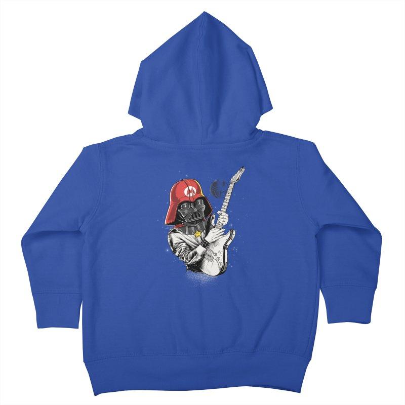 Darth Mario Rockstar Kids Toddler Zip-Up Hoody by zakeu's Artist Shop
