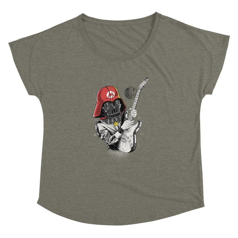 Darth Mario Rockstar Women's Dolman by zakeu's Artist Shop