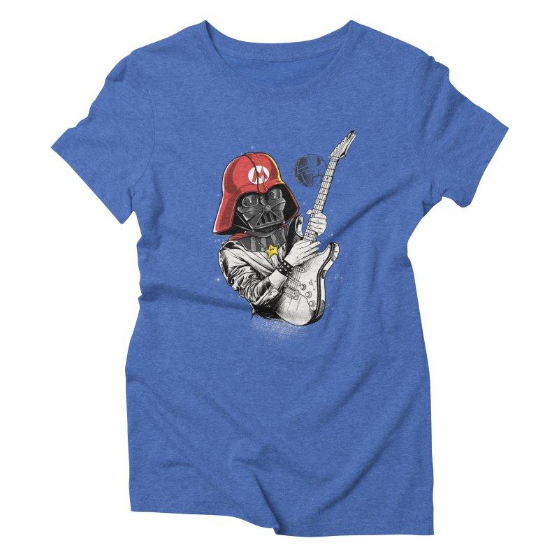 Darth Mario Rockstar Women's Triblend T-Shirt by zakeu's Artist Shop