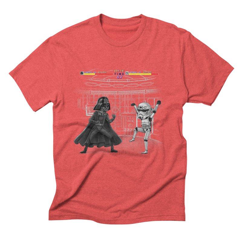 Final Fight Men's Triblend T-shirt by zakeu's Artist Shop