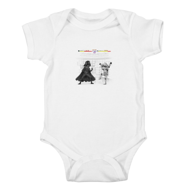 Final Fight Kids Baby Bodysuit by zakeu's Artist Shop