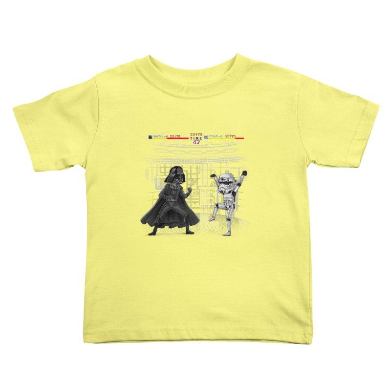 Final Fight Kids Toddler T-Shirt by zakeu's Artist Shop