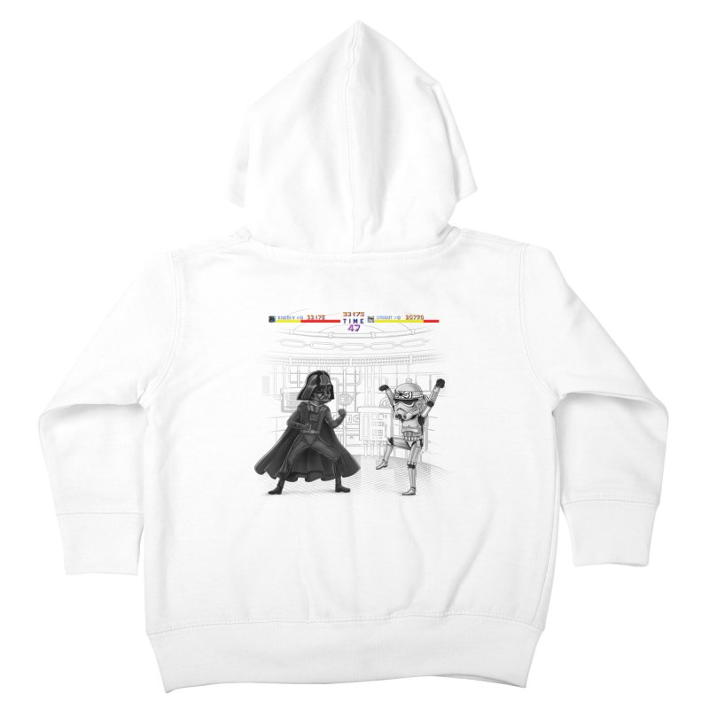 Final Fight Kids Toddler Zip-Up Hoody by zakeu's Artist Shop