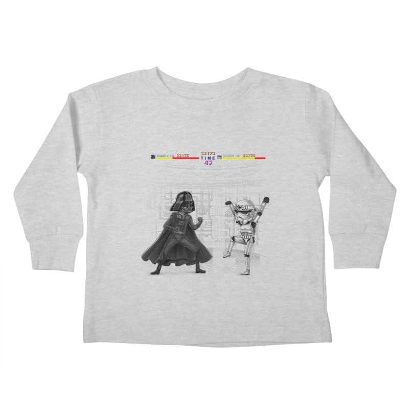 Final Fight Kids Toddler Longsleeve T-Shirt by zakeu's Artist Shop