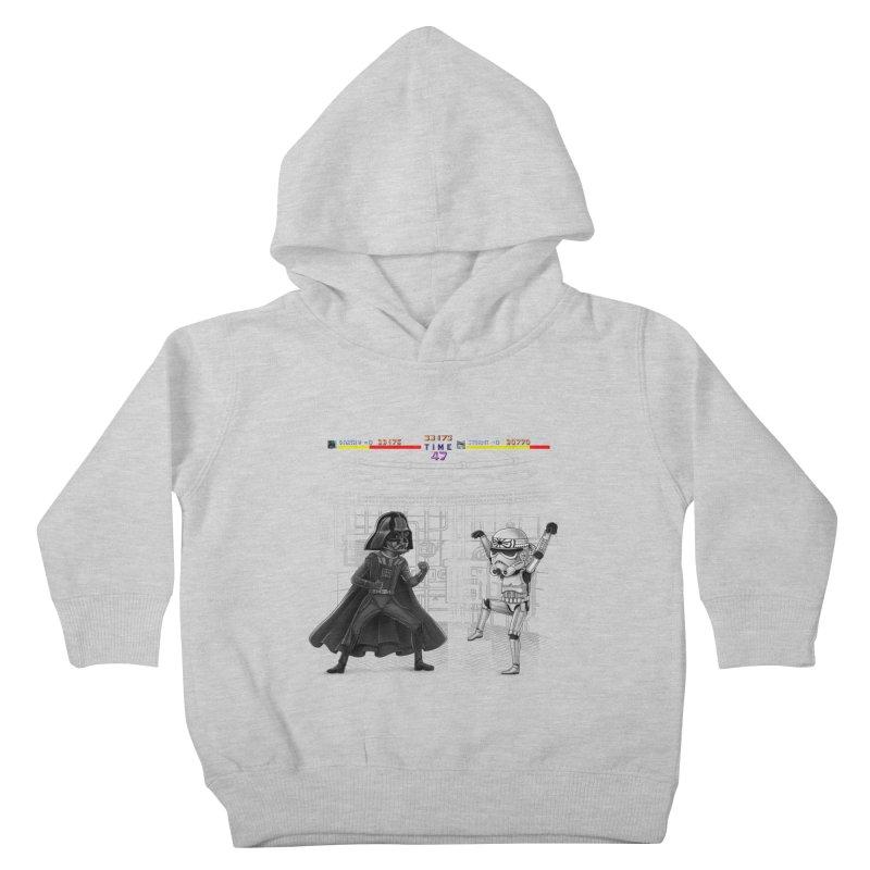Final Fight Kids Toddler Pullover Hoody by zakeu's Artist Shop