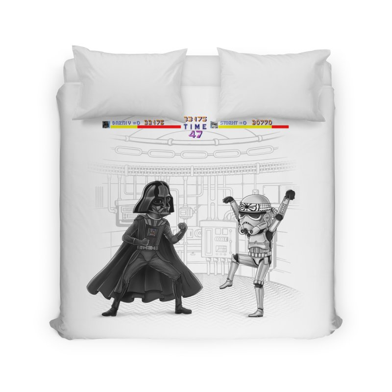 Final Fight Home Duvet by zakeu's Artist Shop