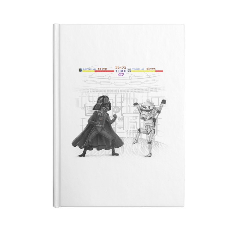 Final Fight Accessories Notebook by zakeu's Artist Shop