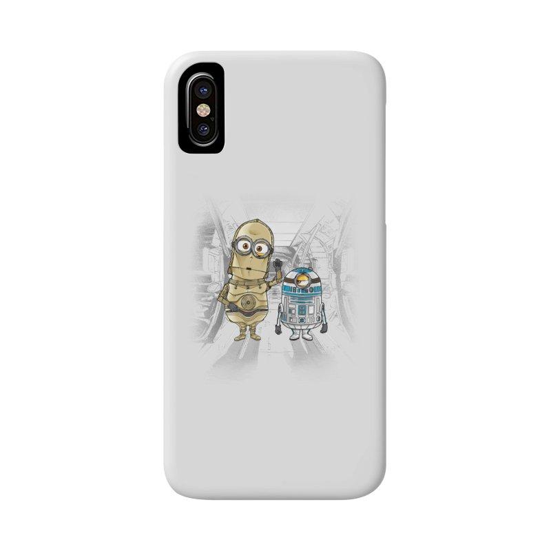 M2D2 AND M3PO Accessories Phone Case by zakeu's Artist Shop