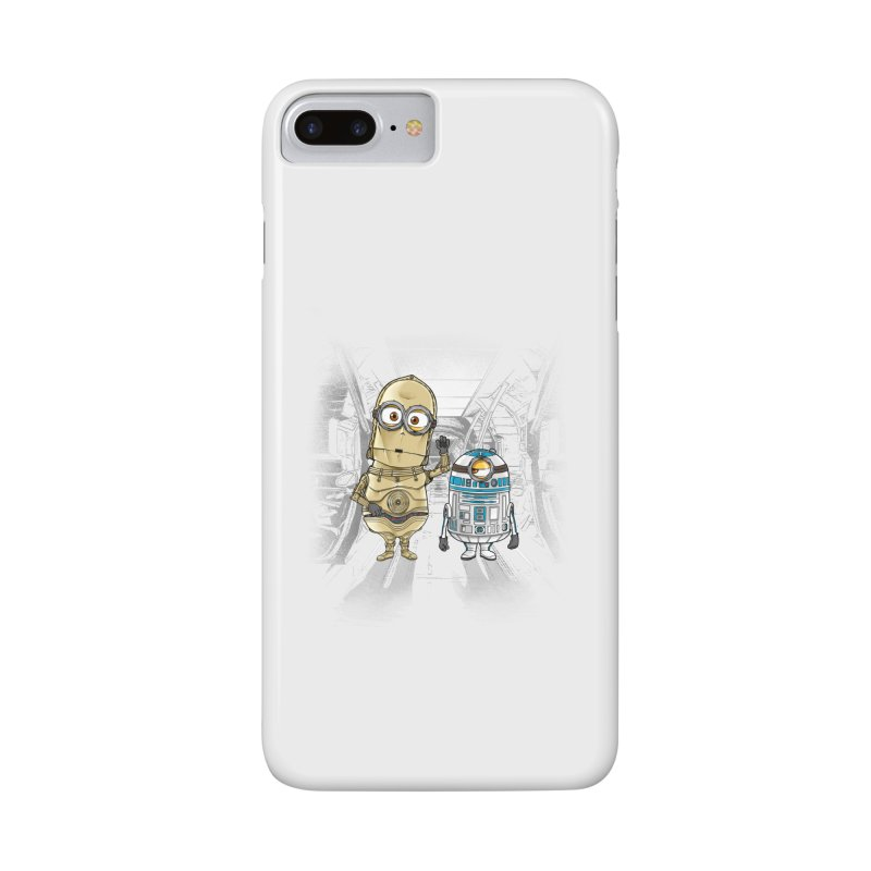M2D2 AND M3PO Accessories Phone Case by zakeu's Artist Shop