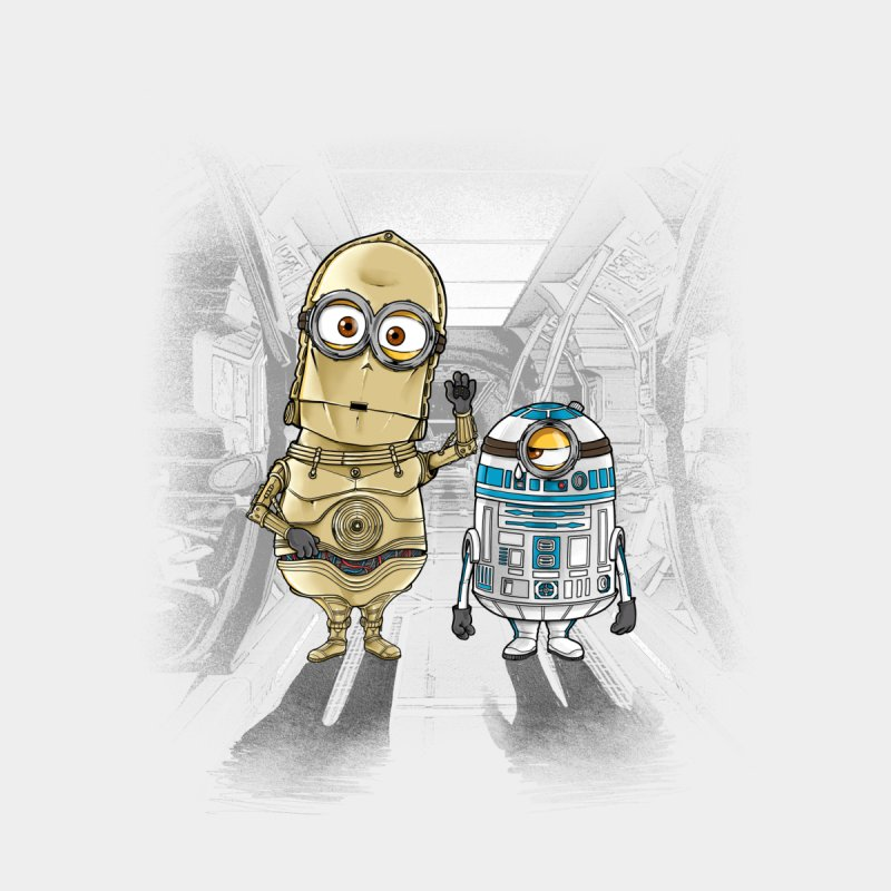M2D2 AND M3PO by zakeu's Artist Shop