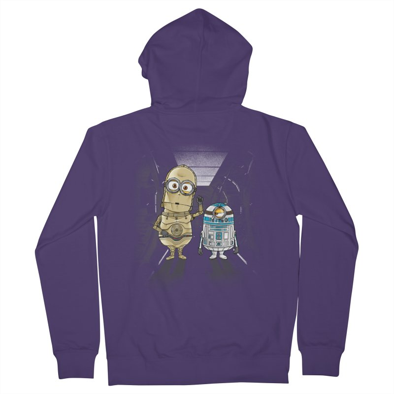M2D2 AND M3PO Women's Zip-Up Hoody by zakeu's Artist Shop