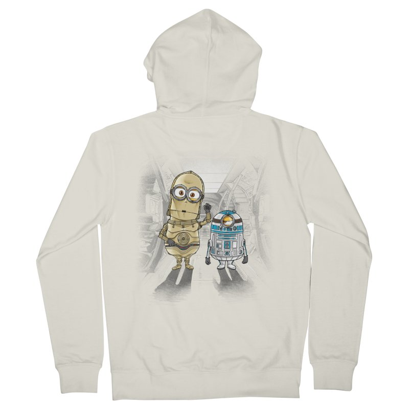 M2D2 AND M3PO Men's Zip-Up Hoody by zakeu's Artist Shop