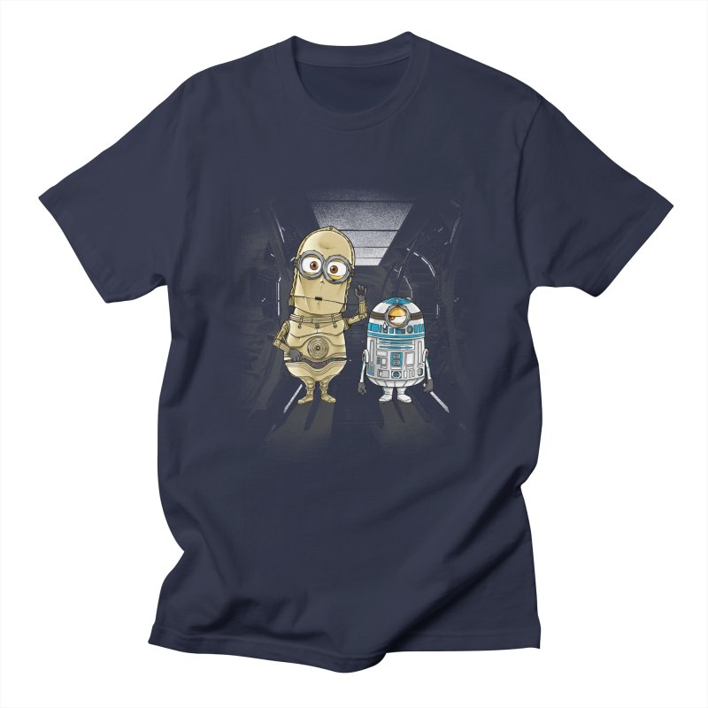 M2D2 AND M3PO Men's T-Shirt by zakeu's Artist Shop
