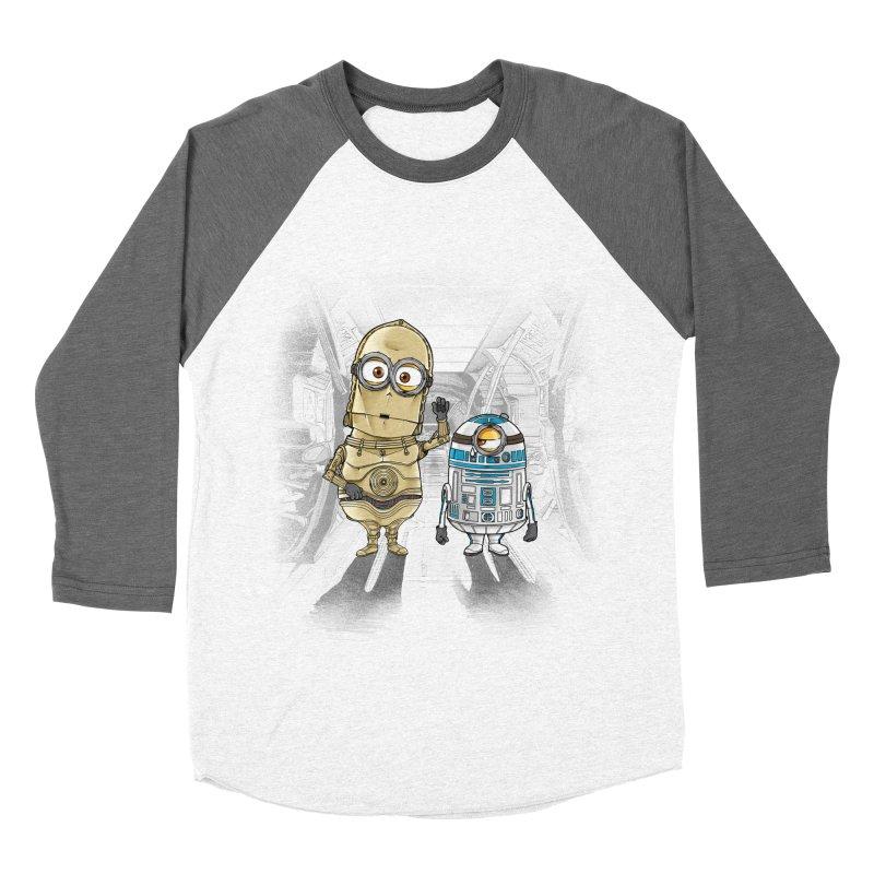 M2D2 AND M3PO Men's Baseball Triblend T-Shirt by zakeu's Artist Shop