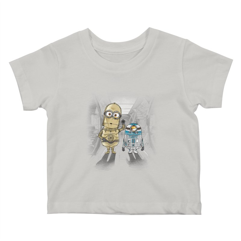 M2D2 AND M3PO Kids Baby T-Shirt by zakeu's Artist Shop