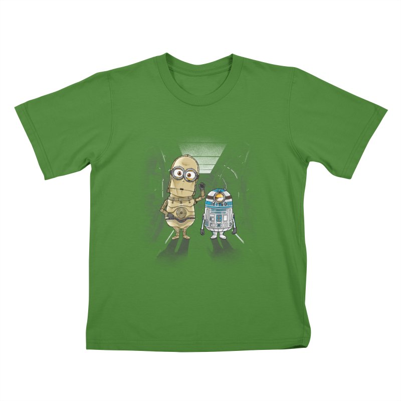 M2D2 AND M3PO Kids T-Shirt by zakeu's Artist Shop