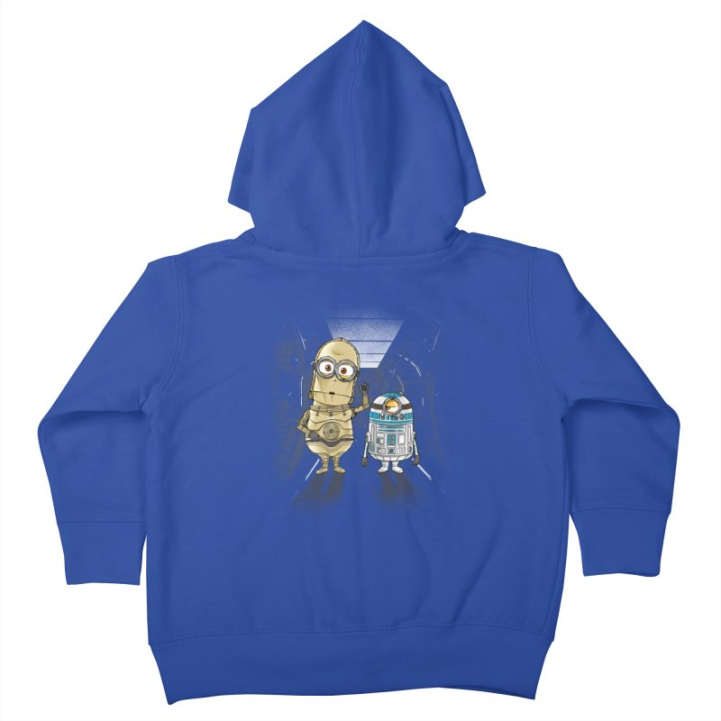 M2D2 AND M3PO Kids Toddler Zip-Up Hoody by zakeu's Artist Shop