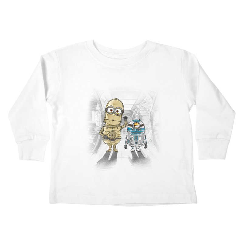 M2D2 AND M3PO Kids Toddler Longsleeve T-Shirt by zakeu's Artist Shop