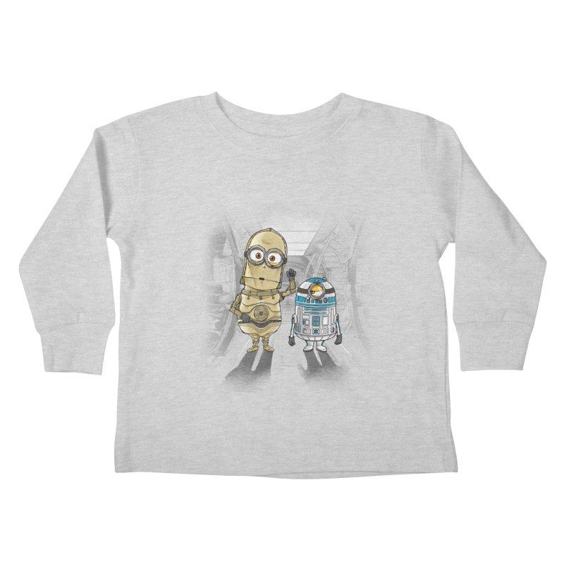 M2D2 AND M3PO Kids Toddler Longsleeve T-Shirt by zakeu's Artist Shop